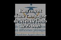Campagne de financement - Fondation du CRDP-CA