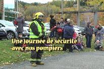 Une journ�e de s�curit� avec nos pompiers