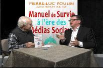 Pierre-Luc Poulin lance son Manuel de survie à l'ère des médias sociaux