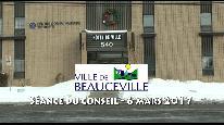 Séance du conseil municipal de Beauceville du 6 mars 2017