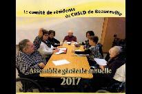 AGA 2017 du comité de résidents du CHSLD de Beauceville