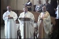 Messe d'intronisation du Curé Urbain Rhéaume (24 sept. 2017)