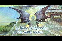 Le banc de légende de Saint-Victor (2017)