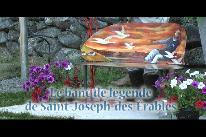 Le banc de légende de Saint-Joseph-des-Érables (2017)