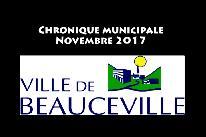 Chronique municipale - Novembre 2017
