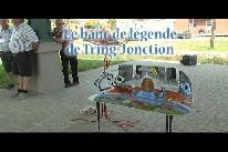 Le banc de légende de Tring-Jonction (2017)