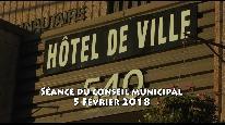 Séance du conseil municipal de Beauceville du 5 février 2018