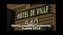 Séance du conseil municipal de Beauceville du 9 avril 2018
