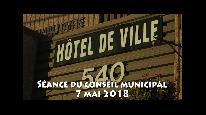 Séance du conseil municipal de Beauceville du 7 mai 2018
