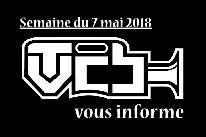 TVCB vous informe - Semaine du 7 mai 2018