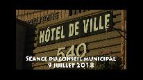 Séance du conseil municipal de Beauceville du 9 juillet 2018