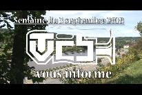 TVCB vous informe - Semaine du 3 septembre 2018