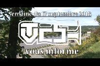 TVCB vous informe - Semaine du 17 septembre 2018