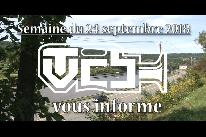 TVCB vous informe - Semaine du 24 septembre 2018