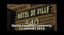 Séance du conseil municipal de Beauceville du 1er octobre 2018